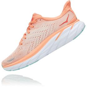 Hoka One One Clifton 8 Shoes Women, naranja